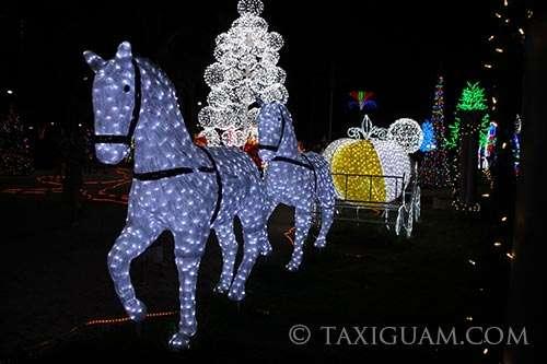 グアムのクリスマスイルミネーション