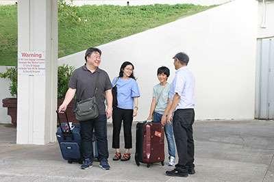 グアム空港からホテルまでお出迎え